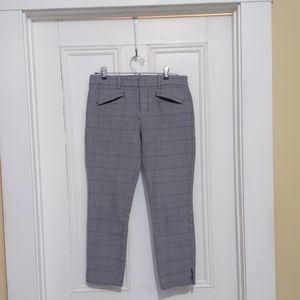 Gap Signature Ankle Skinny pants Glen Plaid